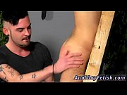 Gay man asphyxia porn bondage Aaron finds himself trussed into the