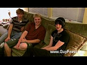 gay clip of aron, kyle and james are.