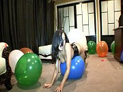 annie cruz balloon popping fetish slut