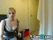 on webcam for her boyfriend -.