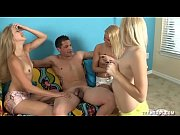 three horny teens jerk off a.