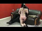 Enslaved blowjob of hardcore facially humiliated submissive in rough domination