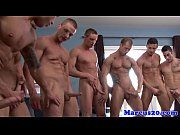 muscled hunks fuck and suck in.