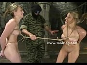 tied girls competing in pervert contest