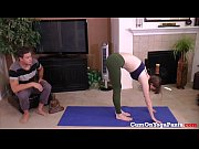 red headed step sister in yoga.