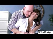 big tits girl (reena sky) bang in office.