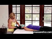sensual oil massage turns to hot lesbian action 5