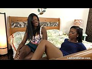 Hot Ebony Girls Love Playing With Their Toys!