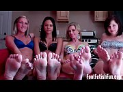 four girl foot fetish heaven
