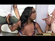 Black pornstar debut bukkake 23