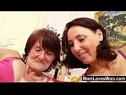Picture Hairy grandma toyed by busty mature lesbian