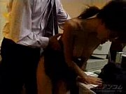 asian couple fucking on the office.