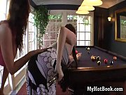 Missy Stone wanted to learn how to play pool and R