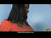 incredible ebony teen blowjob gloryhole audition.
