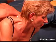 Hot and horny mature bitch gets wet