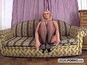 Hot blonde gets...