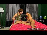 Asian interracial gay Robbie is more than interested in taking it as