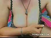Nasty old mature with saggy boobs show all