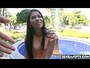 teen babe from colombia is so innocent and.