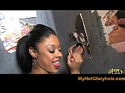 interracial gloryhole - amazing blowjob expert cock sucking 20