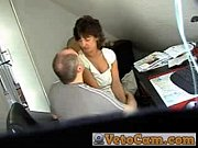 Mature fucked in the office - Hidden cam