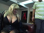 Blonde mature sex bomb with huge tits