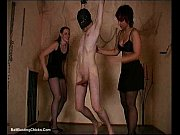 brutal cock slapping while cumming - ballbusting_ cbt.