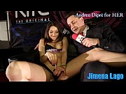 jimena lago masturbates herself with a lollipop for.