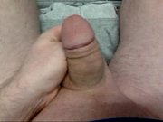 soft cock to hard cock to cum shot.