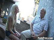 young whore gives massage and pussy to old guy