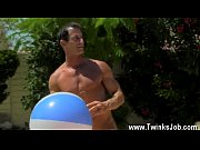 Gay video Daddy Poolside Prick Loving