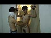 slim asian slave boy got milked