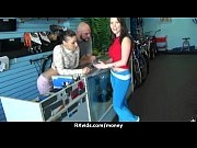 Cute Teen Sucked and fucked for cash 9