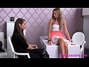Femaleagent first lesbian experience for shy gorgeous