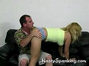 lazy bitch gets a good spanking