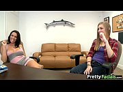 Rachel Starr and teen girl double facial_1.02