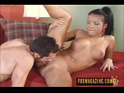maya gates swallowing a big hard.