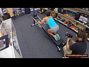fit black chick gets pounded by the pawnshop.