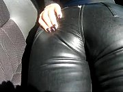 leather pants in the car 2