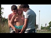 AMAZING teens PUBLIC sex ORGY with a pretty girl PART 1
