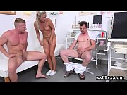 doctor assists with hymen physical and defloration of.