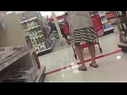 Milf Upskirt with thong at target