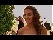 2009 SI Swimsuit Behind-the-Scenes- Irina Shayk becomes the canvas in this video - Video Dailymotion