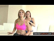 Lesbian Seduces Yoga Instructo