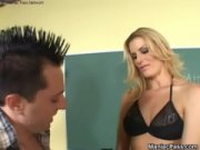 milf teacher fucked at school