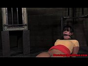 gagged sub spanked by dom