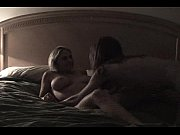 private blonde and brunette amateur lesbian couple