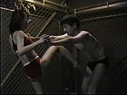 Japanese boy knocked out by girl&#039_s ballbusting!
