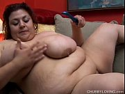 Sexy BBW has huge tits