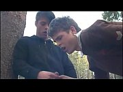 Picture Cute Threeboy Quickie in the Woods